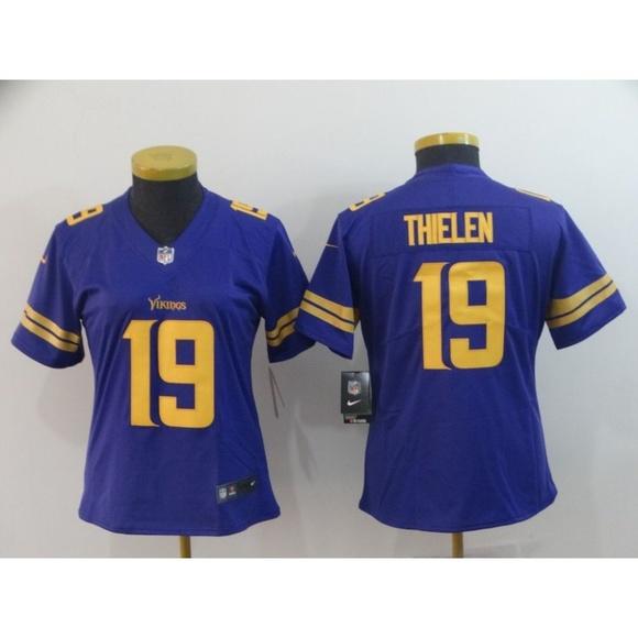 san francisco f8ba1 d52ea Women Minnesota Vikings Adam Thielen Jersey (1)